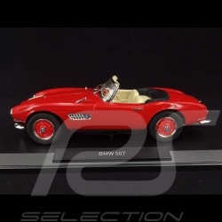 BMW 507 Cabriolet 1956 Rouge 1/18 NOREV 183231