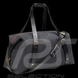 Porsche travel bag Heritage Weekender Dark grey / Gold / Burgundy red WAP0350110LHRT