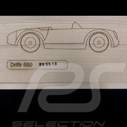 Wooden Porsche 550 Spyder Radio Controlled 1/18