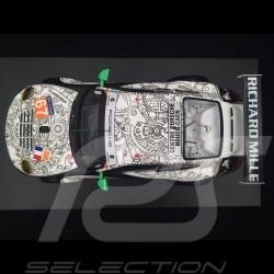 Porsche 911 GT3 RSR 997 IMSA nr 67 24H Le Mans 2014 34th 1/18 white/black SPARK 18S149