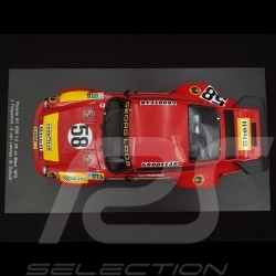 Porsche 911 RSR 3.0 nr 58 24H Le Mans 1975 Red 1/18 SPARK 18S165