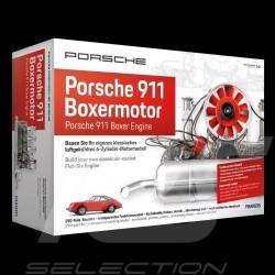 Moteur Porsche 911 boxer Flat 6 Engine Motor Nouvelle version 2021 améliorée Echelle 1/4
