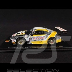 Porsche 911 GT3 R type 991 ROWE  Racing n° 98 SPA 2019 1/43 Spark SB254