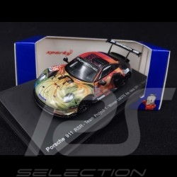 Porsche 911 RSR type 991 Winner Le Mans 2019 n°56 1/64 Spark Y142