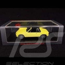 Porsche 914/6 1973 chrome yellow 1/43 SPARK S4562