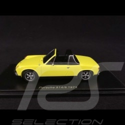 Porsche 914/6 1973 chrome yellow 1/43 SPARK S4562