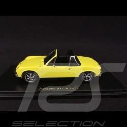 Porsche 914/6 1973 jaune saturne 1/43 SPARK S4562