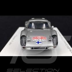 Porsche 904 Carrera GTS Rallye Monte Carlo 1965 n° 163 1/43 SPARK S0906