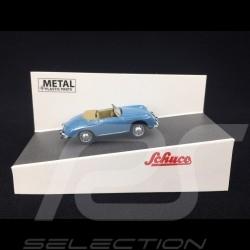 Porsche 356 A Speedster 1956 bleu clair 1/87 Schuco 452649800