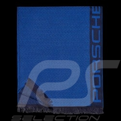 Porsche Design Scarf Tec flex Business Rebel blue Pure wool Porsche Design 4046901297961
