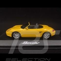 Porsche Boxster type 986 2002 Jaune Vitesse Speed Yellow Speedgelb 1/43 Minichamps WAP02009013