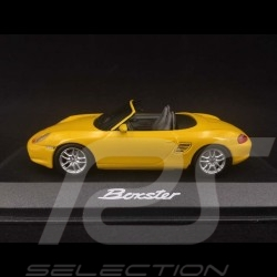 Porsche Boxster type 986 2002 Speed Yellow 1/43 Minichamps WAP02009013