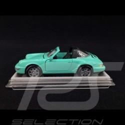 Porsche 911 Carrera 2/4 Targa type 964 1991 Vert menthe Mint green Mintgrün 1/43 NZG Modelle WAP259600