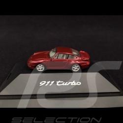 Porsche 911 type 993 Turbo 1994 Arenarot Perlcolor 1/87 Herpa WAP022001
