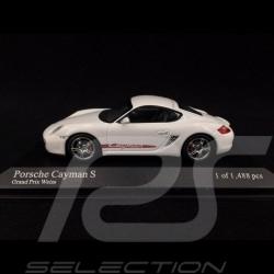 Porsche Cayman S 2005 blanc white weiß Grand Prix 1/43 Minichamps 400065621