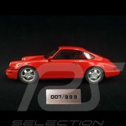 Porsche 911 Carrera RS 3.6 Club Sport Type 964 Rouge indien 1/18 GT Spirit GT060 Guards red Indischrot