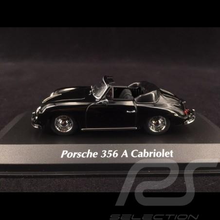 Porsche 356 A Cabriolet 1956 black 1/43 Minichamps 940064230