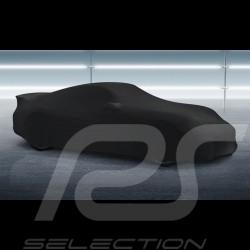 Housse de protection intérieur Indoor car cover Fahrzeugabdeckung Porsche 911 Type 991 noire Black Schwarz Qualité Premium
