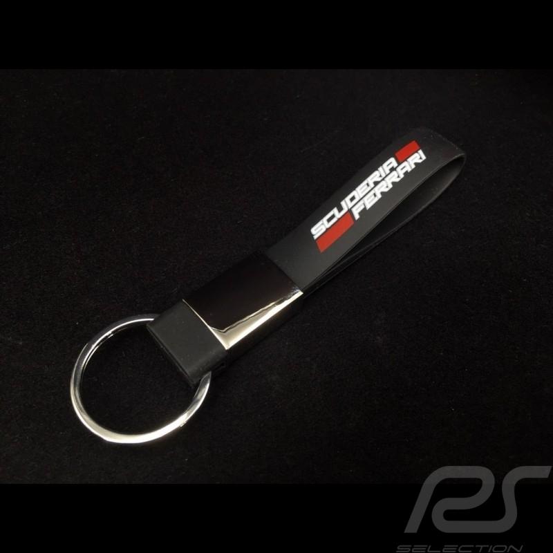 Keyring Ferrari black