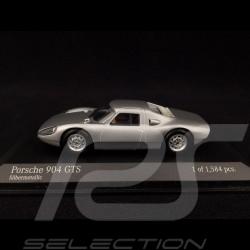 Porsche 904 GTS 1964 argent 1/43 Minichamps 400065721