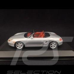 Porsche Boxster S type 986 1999 argent 1/43 Minichamps 430068030