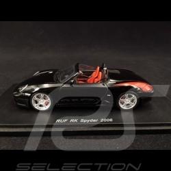 Porsche RUF RK Spyder 2006 noir 1/43 Spark S0708