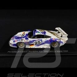Porsche 911 type 993 GT1 Porsche AG n° 25 Le Mans 1996 1/43 Spark S5602