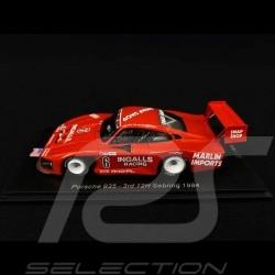 Porsche 935 Henn's Swap Shop n° 6 Sebring 1984 1/43 Spark US091