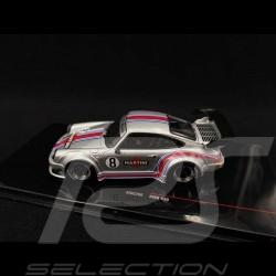 Porsche 911 type 930 RWB Rauh-Welt n° 8 Martini argenté 1/43 IXO Models MOC206