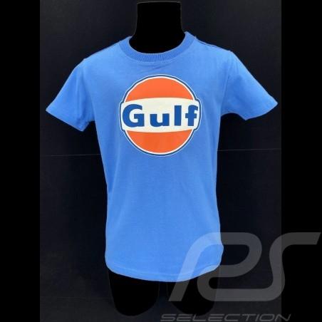 T-Shirt Gulf cobalt blue  - kids