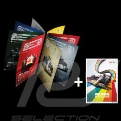 Set 8 posters F1 70ème anniversaire collection complète Edition limitée