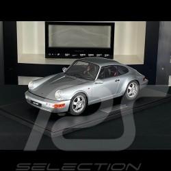 Porsche 911 Carrera RS 3.6  type 964  1994 Silver metallic 1/8 Minichamps 800657002