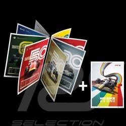 Set 8 Posters F1 World champions komplette Sammlung Limitierte Auflage