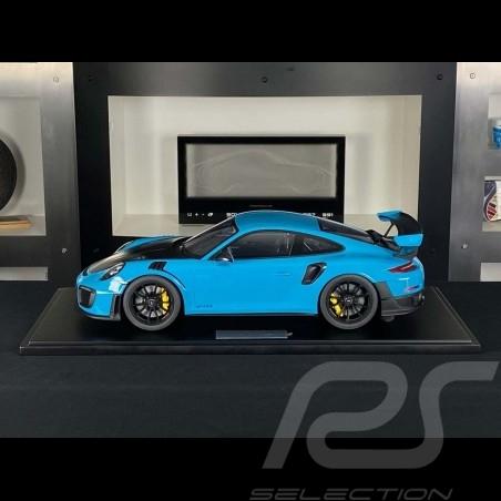 Porsche 911 GT2 RS type 991.2 2018 Miami Blue 1/8 Minichamps 800620002