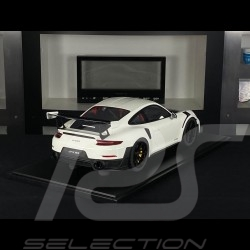 Porsche 911 GT2 RS type 991.2 2018 White 1/8 Minichamps 800620000