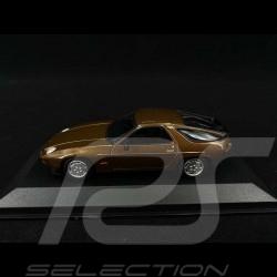 Porsche 928 S 1979 Marron métallisé Brown metallic Braun 1/43 Minichamps 940068120