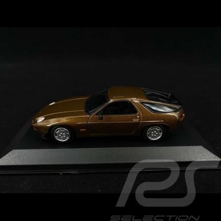 Porsche 928 S 1979 Brown metallic 1/43 Minichamps 940068120