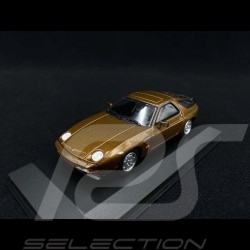 Porsche 928 S 1979 Brown metallic 1/43 Minichamps 940068120
