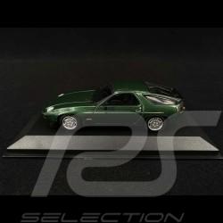 Porsche 928 S 1979 Vert métallisé Green Grün metallic 1/43 Minichamps 940068121