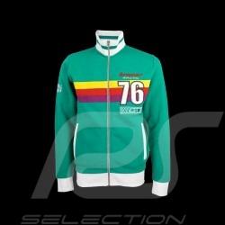 Veste Jacket Jacke Porsche Kremer Racing zippée Porsche 935 RSR n° 76 verte - homme
