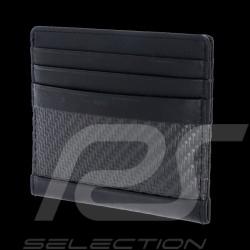 Portefeuille Porsche Porte-cartes Carbon SH6 Noir Porsche Design 4090002602 wallet Credit card holder Geldbörse Kreditkartenhalt