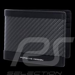 Portefeuille Porsche Carbon H6 Noir Porsche Design 4090002732 wallet Geldbörse