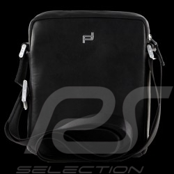 Porsche Design bag Urban Courier XSVZ Shoulder bag Black Leather 4090002756