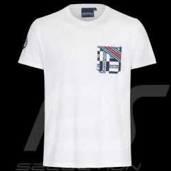 T-Shirt Martini International Club Blanc - homme