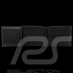 Porsche Design wallet Urban Courier H10 Credit card holder 3 flaps  Black leather 4090002696