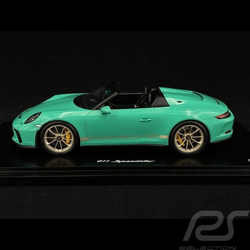 Porsche 911 Speedster type 991 Jade green 1/18 Spark WAXL2100003