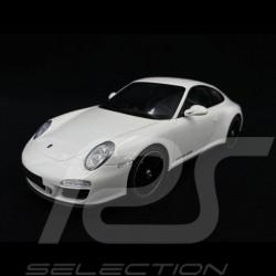 Porsche 911 Carrera GTS Type 997 mark II White 1/18 GT Spirit GT287
