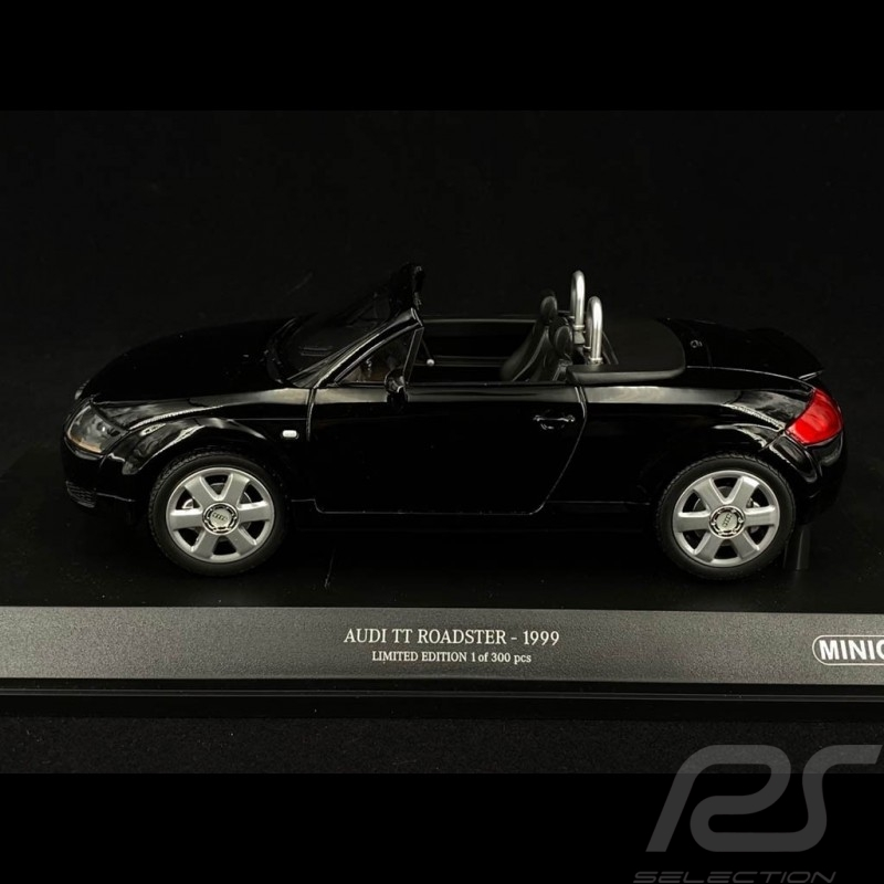 Audi TT Roadster 1999 black 1/18 Minichamps 155017030