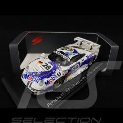 Porsche 911 type 996 GT1 Porsche AG n° 26 Le Mans 1996 1/43 Spark S5603