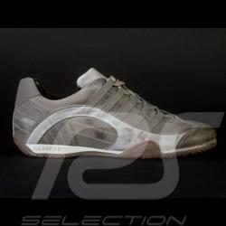 Sneaker / basket shoes Style race driver Beige V2 - men